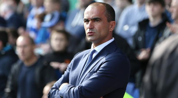 Roberto Martinez's Everton head to Arsenal a week on from the 3-0 home loss to Manchester United