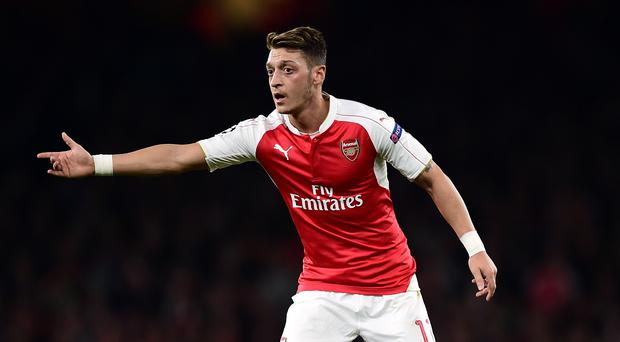 German playmaker Mesut Ozil has impressed for Arsenal this season.