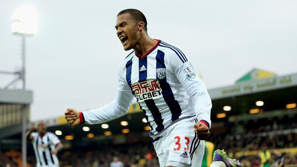 Salomon Rondon scored the winner for West Brom