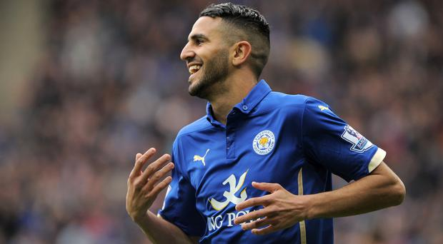 Riyad Mahrez has been in top for Leicester City this season