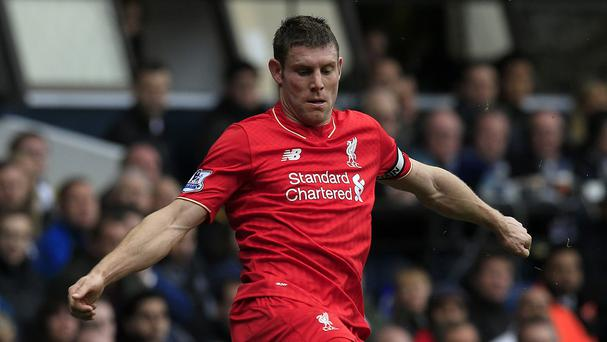 Liverpool's James Milner