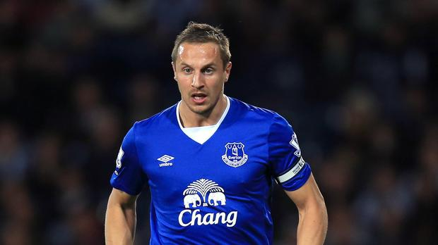 Phil Jagielka damaged his medial ligament against Arsenal on Saturday