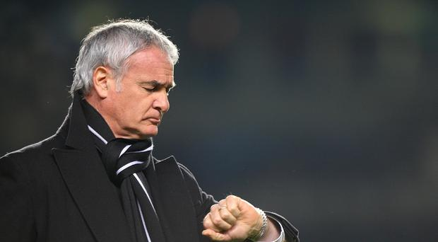 Claudio Ranieri says it is pizza time for the Leicester players