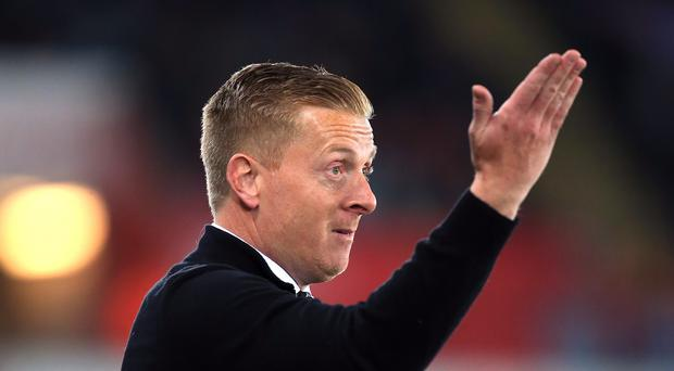 Swansea manager Garry Monk has said his players were not to blame for the tunnel fracas at Aston Villa