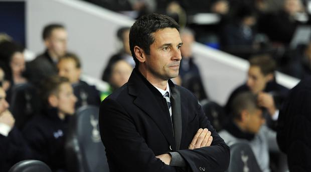 Arsene Wenger believes Remi Garde, pictured, has held talks with Aston Villa