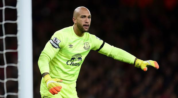 Everton goalkeeper Tim Howard has come under scrutiny for his recent performances