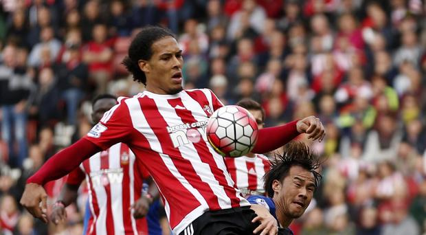 Southampton's Virgil van Dijk is not getting carried away by the talk of the south coast derby