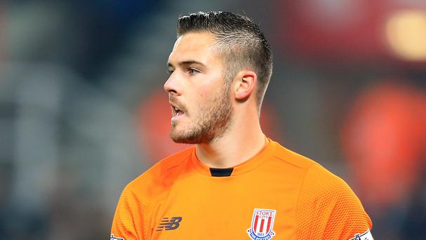 Stoke goalkeeper Jack Butland was on form against Newcastle