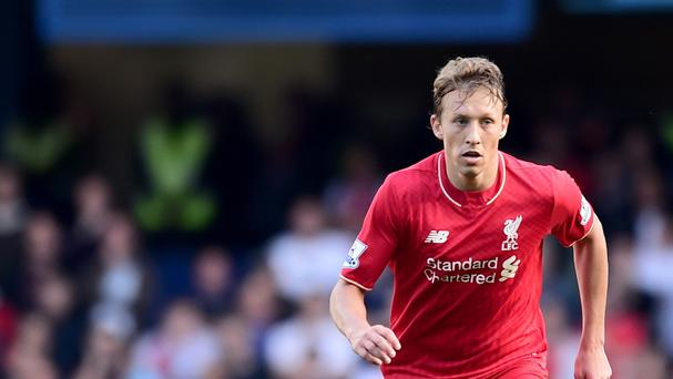 Liverpool's Lucas, pictured, praised the performance of referee Mark Clattenburg after avoiding a second yellow card in the win at Chelsea