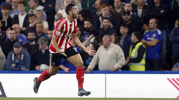 Graziano Pelle has been in fine form for Southampton