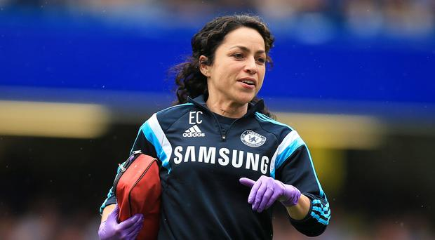 Eva Carneiro tied the knot this week