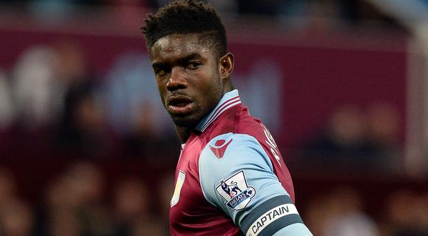 Micah Richards joined Aston Villa from Manchester City on a free transfer in the summer