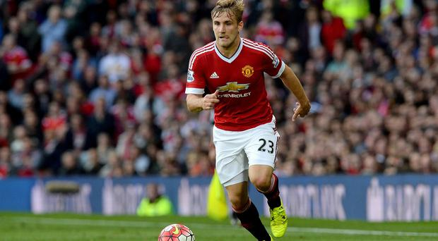 Luke Shaw is making good progress in his recovery from a double leg break