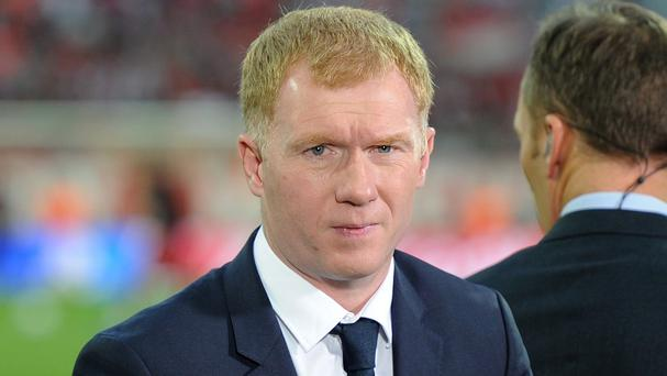 Paul Scholes has once again criticised Manchester United boss Louis van Gaal