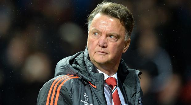 Manchester United manager Louis van Gaal wants supporters to aim any discontent towards him, not his players
