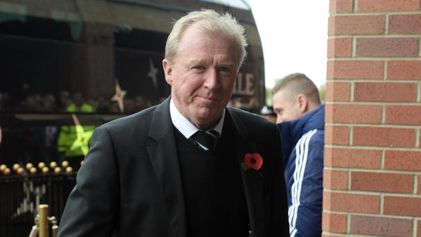 Steve McClaren, pictured, believes Eddie Howe has what it takes to be a future England manager
