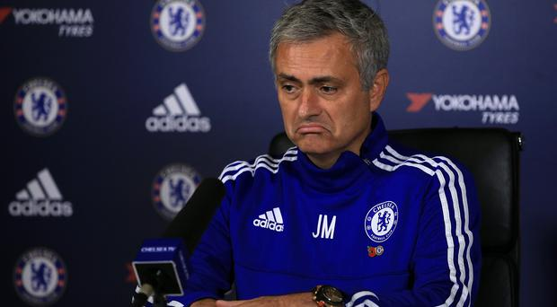 Jose Mourinho is unable to attend Chelsea's match at Stoke on Saturday
