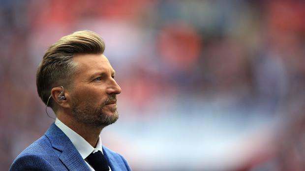 BBC and BT Sport pundit Robbie Savage in a moving moment on BBC radio