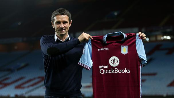 New Aston Villa manager Remi Garde replaced the sacked Tim Sherwood this week.