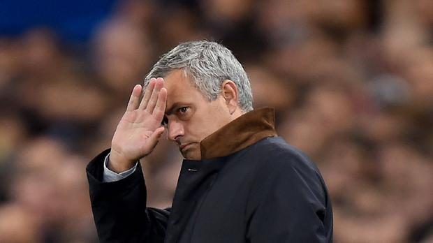 Jose Mourinho is under pressure at Stamford Bridge