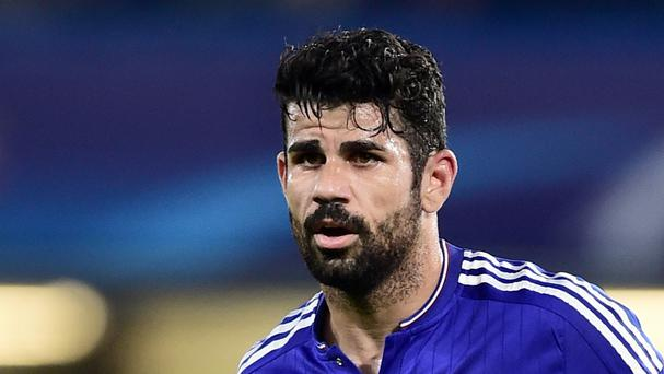 Chelsea's Diego Costa was reported to the referee following an incident at Stoke