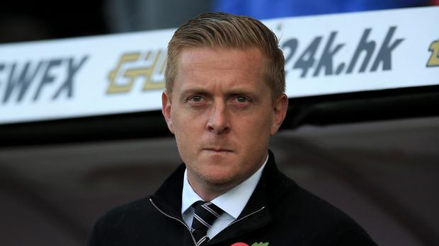 Swansea manager Garry Monk is experiencing a difficult run