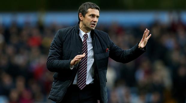 Aston Villa manager Remi Garde saw his team claim a prized point against Manchester City
