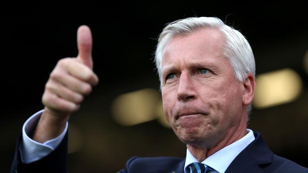 Crystal Palace Alan Pardew is targeting further improvement in the Eagles' league position.