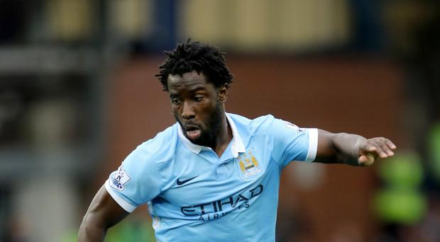 Manchester City's Wilfried Bony will not be playing for Ivory Coast during this international break.