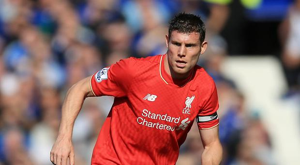 James Milner is aiming to feature for Liverpool against Manchester City next Saturday