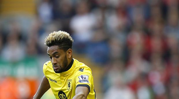 Aston Villa's Jordan Amavi will miss the rest of the season through injury