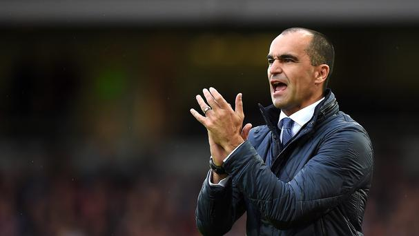 Roberto Martinez's Everton finished 11th in the Premier League last season.