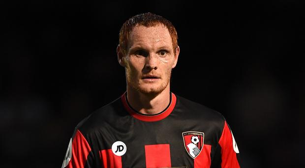 Shaun MacDonald is fully committed to Bournemouth