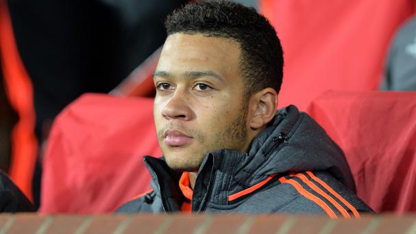With Wayne Rooney, Anthony Martial and Marouane Fellaini unavailable, Louis van Gaal could ask Memphis Depay, pictured, to lead the line for United at Watford