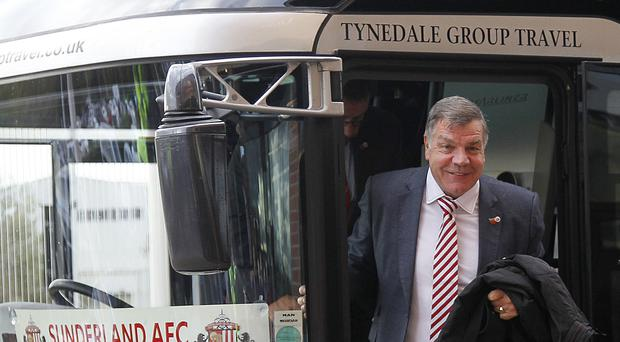 Sunderland manager Sam Allardyce takes his struggling side to Crystal Palace on Monday night