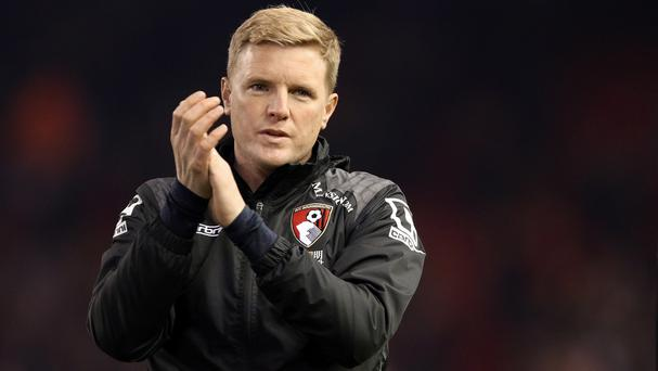 Eddie Howe is pleased to see Bournemouth players gaining greater international recognition