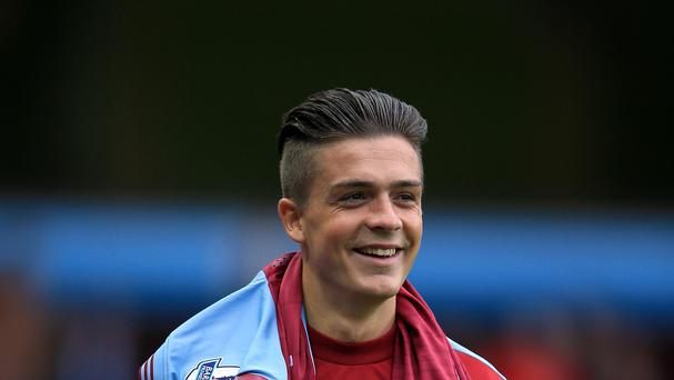 Aston Villa's Jack Grealish has made 11 appearances for the Barclays Premier League strugglers this season.
