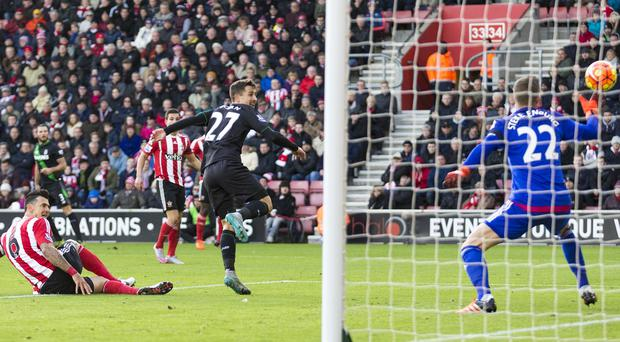 Bojan heads home the game's only goal