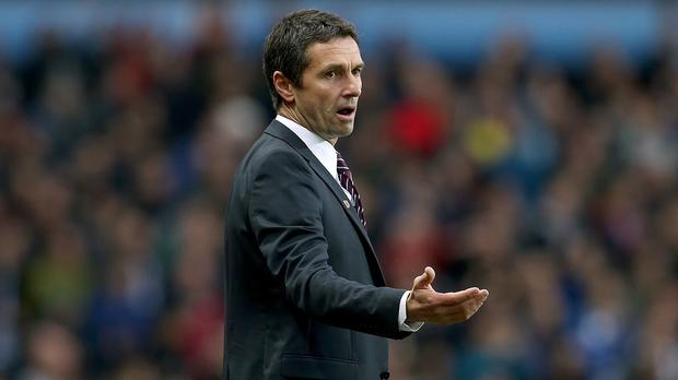 Remi Garde is prepared for hard work at Aston Villa