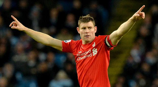 James Milner was in the Liverpool side that beat his old club Manchester City 4-1