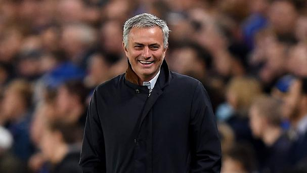 Jose Mourinho was all smiles again after Chelsea beat Norwich