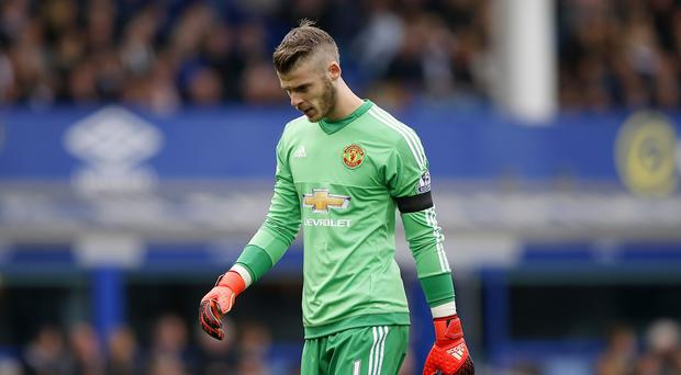 Manchester United goalkeeper David De Gea impressed in the win over Watford