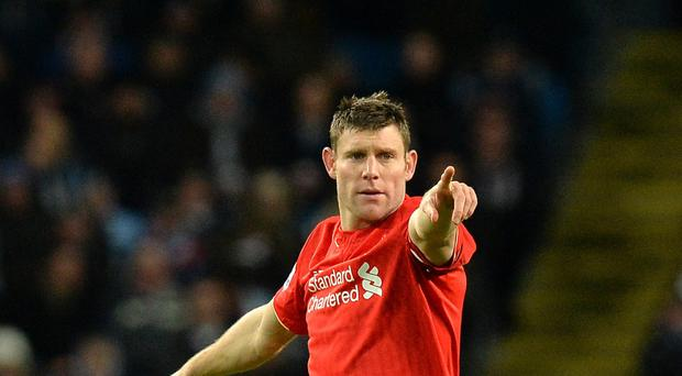 James Milner is enjoying playing under Jurgen Klopp at Liverpool