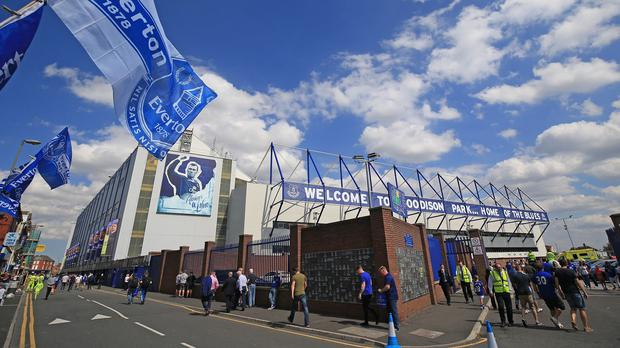 Everton are planning a move away from Goodison Park