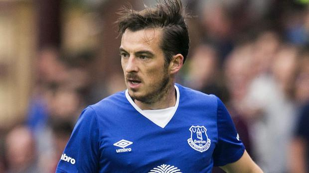 Everton full-back Leighton Baines could make his maiden first-team appearance of the season at Bournemouth