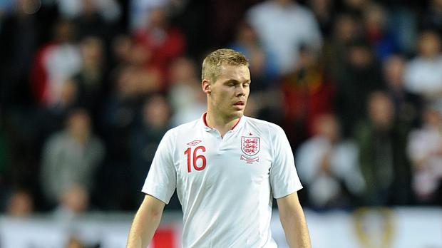 Ryan Shawcross' only England appearance came in the 4-2 loss in Stockholm three years ago