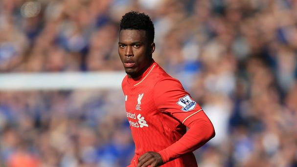 Liverpool striker Daniel Sturridge continues to be dogged by injury problems.