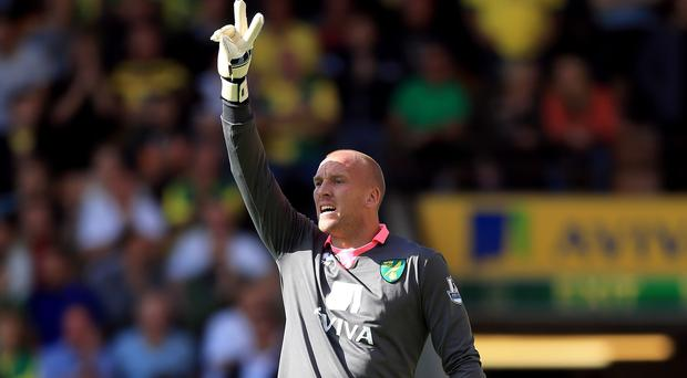 Norwich goalkeeper John Ruddy has hit back at his critics