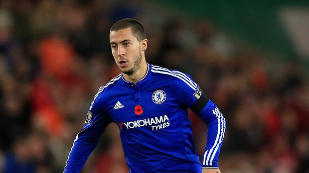 Jose Mourinho is not keen on playing Eden Hazard in a central playmaking role
