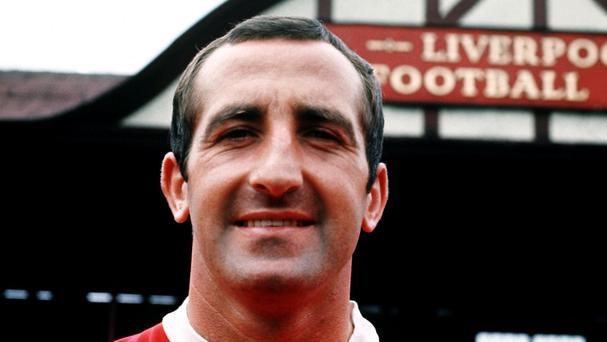 Gerry Byrne played for Liverpool 333 times